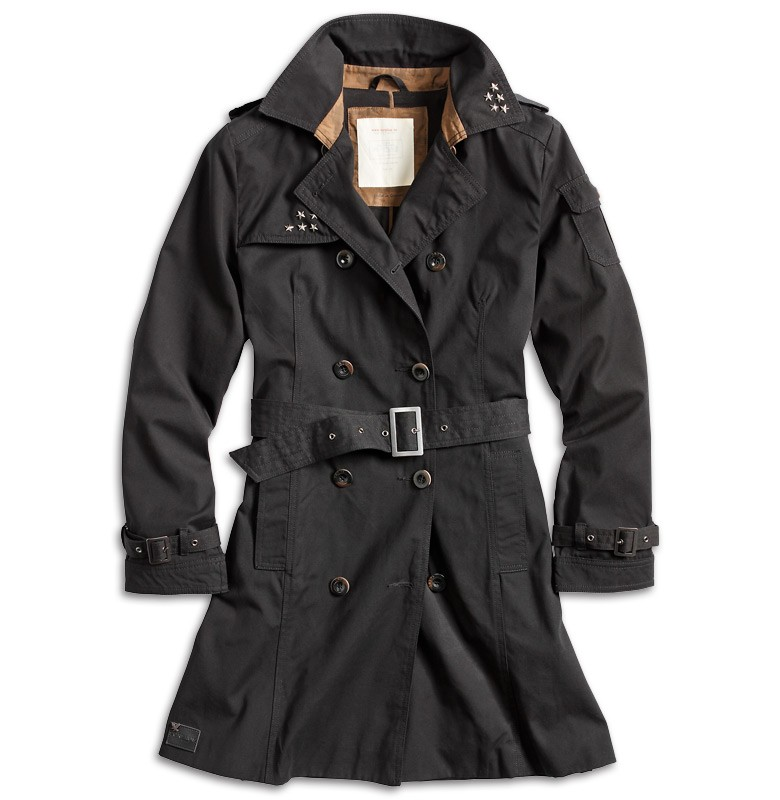 surplus trenchcoat damen mantel jacke trench coat parka regenmantel blazer ladie ebay. Black Bedroom Furniture Sets. Home Design Ideas