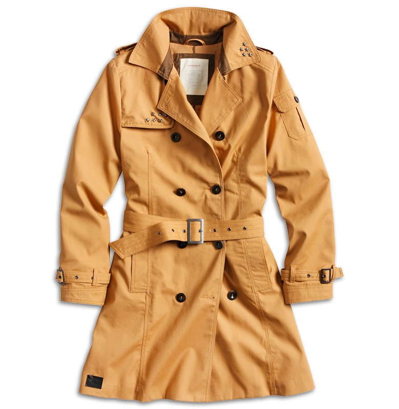 surplus ladies trench coat pu regenjacke damen mantel beige camel schwarz 34 42 ebay. Black Bedroom Furniture Sets. Home Design Ideas