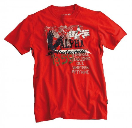 Eagle T-Shirt red